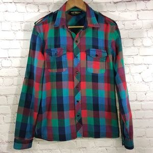 Plaid Shirt By Salt Valley